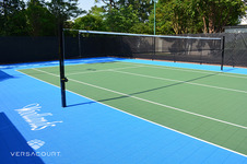 Cancha de Tenis con Red Ajustable